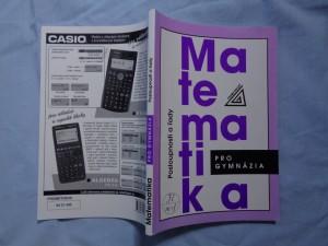 náhled knihy - Matematika pro gymnázia: Posloupnosti a řady