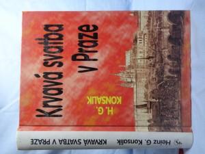 náhled knihy - Krvavá svatba v Praze