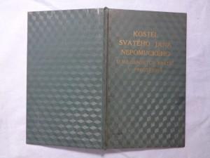 náhled knihy - Kostel Svatého Jana Nepomuckého u Milosrdných bratří v Prostějově