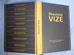 náhled knihy - Skautské vize : kniha rozhovorů s osobnostmi nejen o skautingu