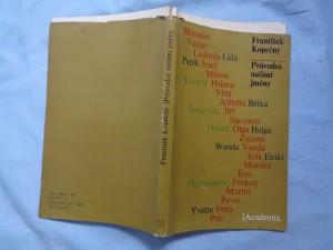 náhled knihy - Průvodce našimi jmény