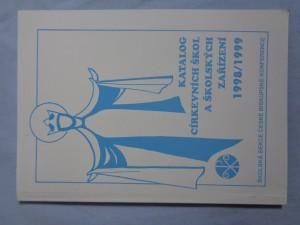 náhled knihy - Katalog církevních škol  a školských zařízení  1998/1999