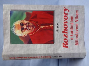 náhled knihy - Rozhovory s kardinálem Miloslavem Vlkem