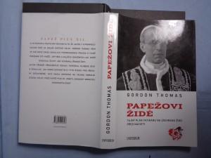 náhled knihy - Papežovi Židé: tajný plán Vatikánu na záchranu Židů před nacisty