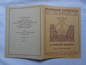 náhled knihy - V pozadí hudby: několik rozhovorů o hudbě