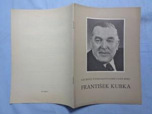 náhled knihy - František Kubka : Laureát čsl. ceny míru