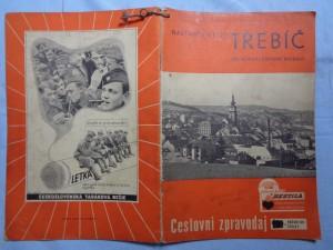 náhled knihy - Cestovní zpravodaj ČSD 1937 č. 1: Navštivte město Třebíč: metropoli západní moravy