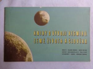 náhled knihy - Knihy o vývoji vesmíru, země, života a člověka: Katalog