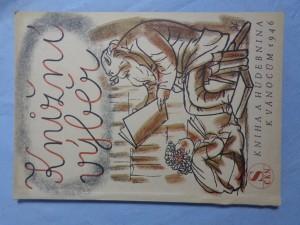 náhled knihy - Knižní výběr: kniha a hudebnina k Vánocům 1946