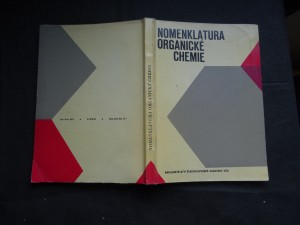 náhled knihy - Nomenklatura organické chemie