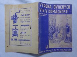 náhled knihy - Výroba ovocných vín v domácnosti
