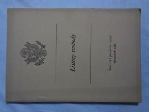 náhled knihy - Listiny svobody: historická prohlášení zásad Spojených států