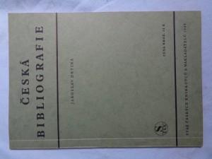 náhled knihy - Česká bibliografie