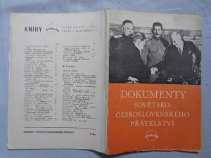 náhled knihy - Dokumenty sovětsko-československého přátelství