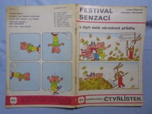 náhled knihy - Čtyřlístek: Festival senzací č. 64