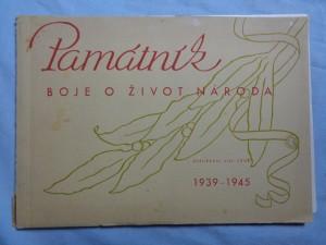 náhled knihy - Památník boje o život národa: 1939 - 1945