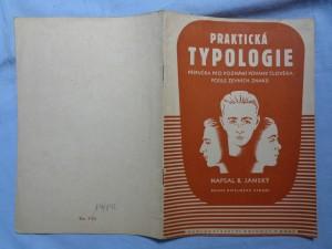 náhled knihy - Praktická typologie: příručka pro poznání povahy člověka podle zevních znaků