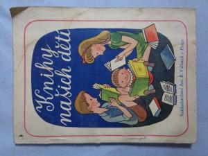 náhled knihy - Knihy našich dětí jež má na skladě knihkupectví Jos. R. Vilímek