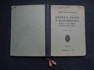 náhled knihy - Sbírka úloh z matematiky pro IV.-VIII. třídu středních škol
