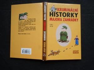 náhled knihy - Kriminální historky majora Zahrádky
