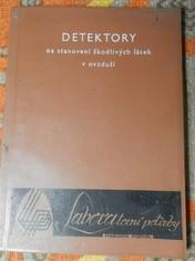 náhled knihy - Detektory na stanovení škodlivých látek v ovzduší
