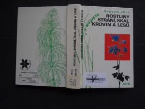 náhled knihy - Rostliny strání, skal, křovin a lesů : kapesní atlas