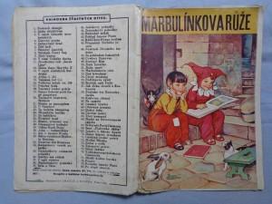 náhled knihy - Marbulínkova růže