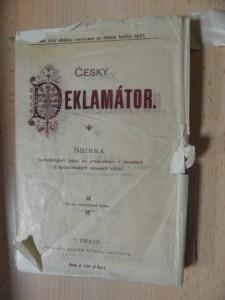 náhled knihy - Český deklamátor : Sbírka nejvhodnějších básní ke přednáškám v besedách a společenských zábavách vůbe