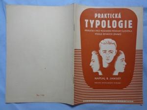 náhled knihy - Praktická typologie : příručka pro poznání povahy člověka podle zevních znaků