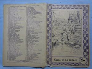 náhled knihy - Kašpárek na cestách