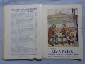 náhled knihy - Lev a myška: malé povídky z velké doby