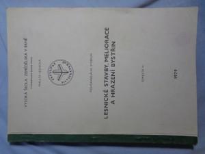 náhled knihy - Lesnické stavby, meliorace a hrazení bystřin - semestr IV.