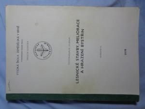 náhled knihy - Lesnické stavby, meliorace a hrazení bystřin - semestr III.