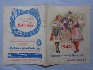 náhled knihy - Šťastný a veselý Nový rok 1940