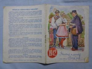 náhled knihy - Šťastný a veselý Nový rok 1942