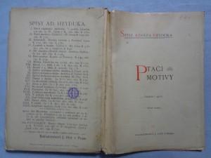 náhled knihy - Ptačí motivy. cyklus I. až IV.