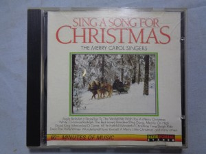 náhled knihy - The Merry Carol Singers – Sing A Song For Christmas