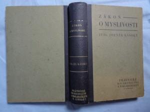 náhled knihy - Zákon o myslivosti