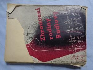 náhled knihy - Zhroucení rodiny Rudlovy: román