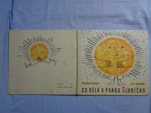 náhled knihy - Co dělá v parku Sluníčko : Pro nejmenší