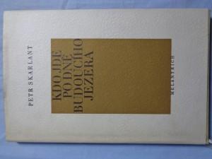 náhled knihy - Kdo jde po dně budoucího jezera : básně ze svatební cesty