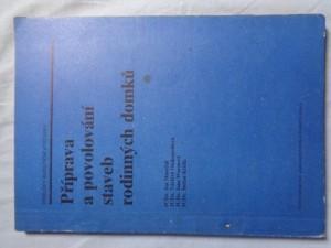 náhled knihy - Příprava a povolování staveb rodinných domků