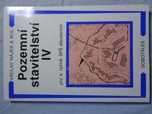 náhled knihy - Pozemní stavitelství IV : pro 4. ročník SPŠ stavebních