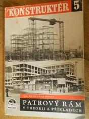 náhled knihy - Patrový rám v theorii a příkladech