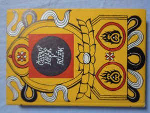 náhled knihy - Černý mrak v bílém : Tibetská lid. poezie