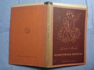 náhled knihy - Starověrské písničky