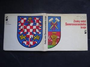 náhled knihy - Znaky měst Severomoravského kraje