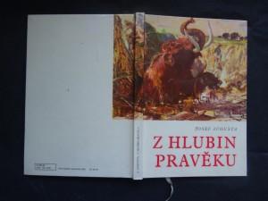 náhled knihy - Z hlubin pravěku : populárně naučná četba doplňující paleontologické učivo učebnic všeobec. vzdělávacích škol