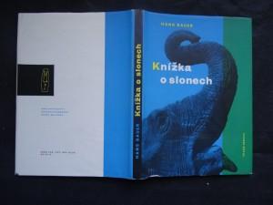 náhled knihy - Knížka o slonech
