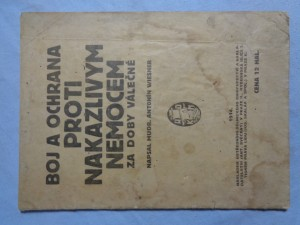 náhled knihy - Boj a ochrana proti nakažlivým nemocem za doby válečné